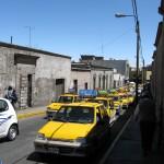 Taxis - soweit das Auge reicht